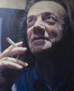 Arno Adams- Schilderij van Wim Albrink