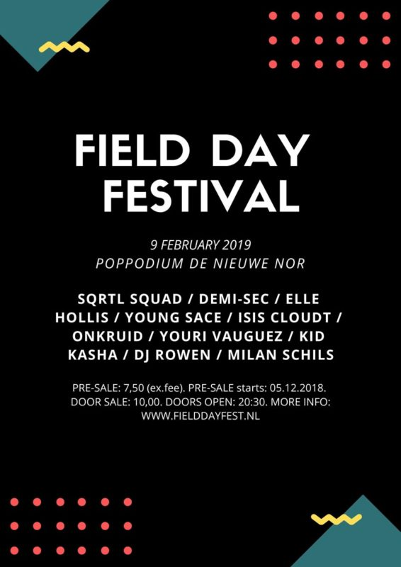 FIELD DAY FESTIVAL POSTER